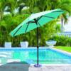 Aluminum Patio Umbrella with Sunbrella